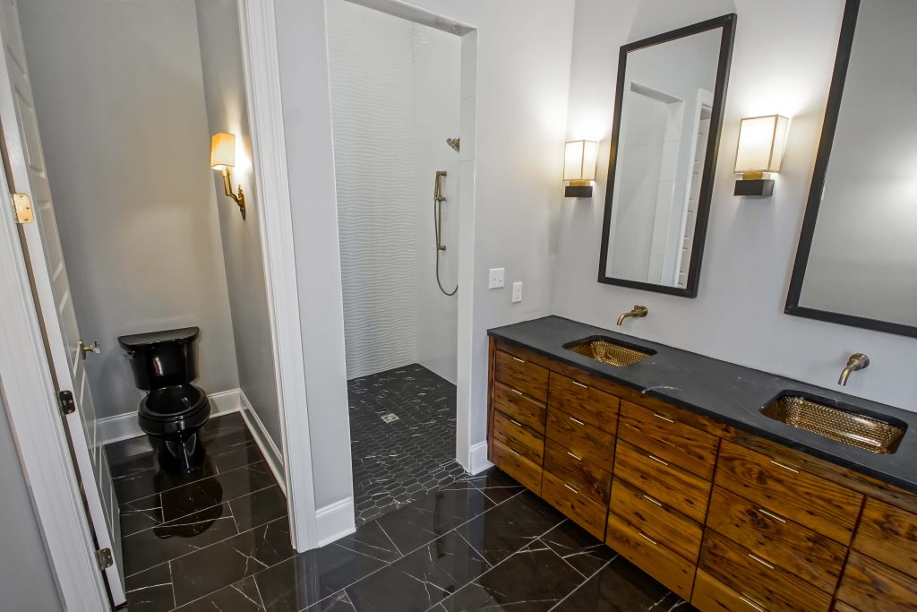 residential building project - bathroom